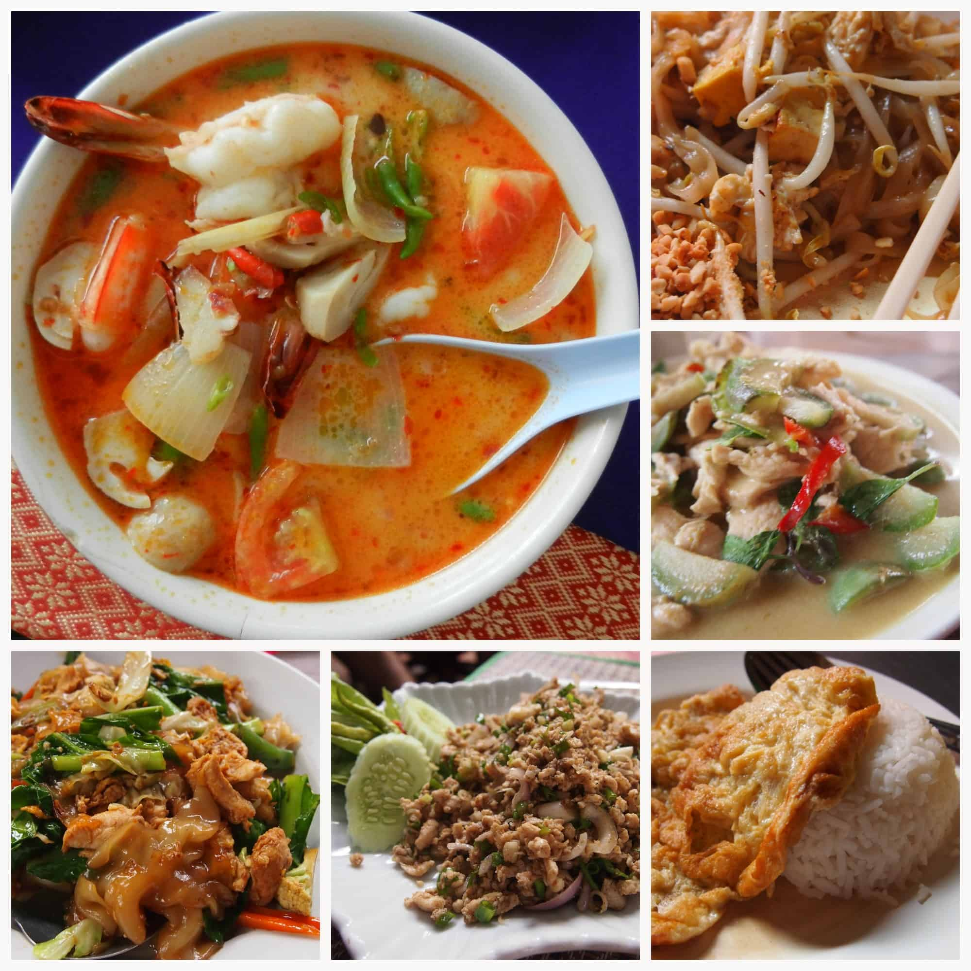 Thai Food Collage 2
