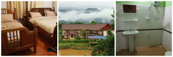 Vang Vieng Laos Family accommodation