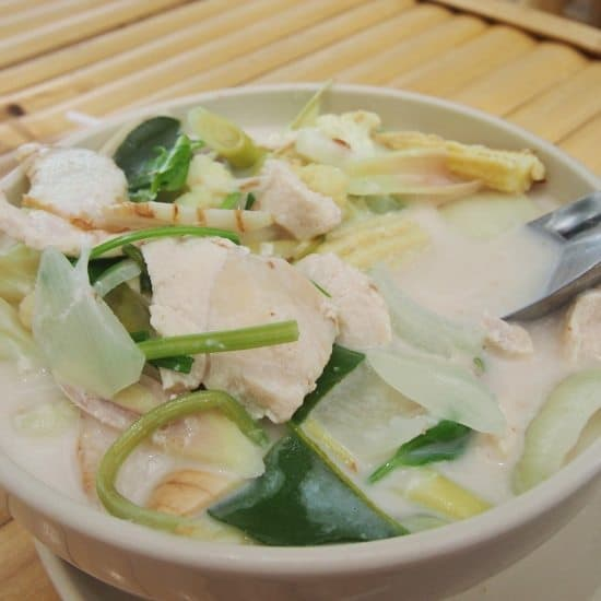 Thai Food for beginners Tom Ka Gai