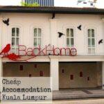 Kuala Lumpur Family Accommodation back home
