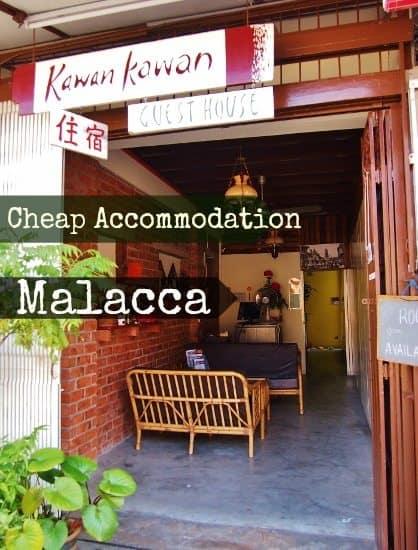 Cheap family accommodation in Malacca Malaysia. Kawan Kawan guest house