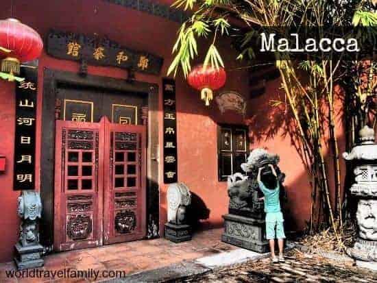Malacca or Melaka, Malaysia.