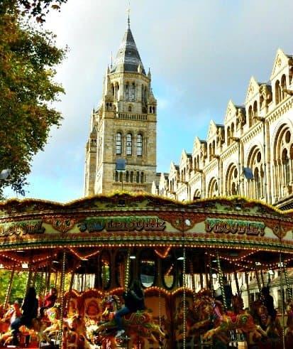 Christmas carousel London