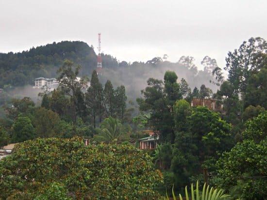 Ella Sri Lanka accommodation view