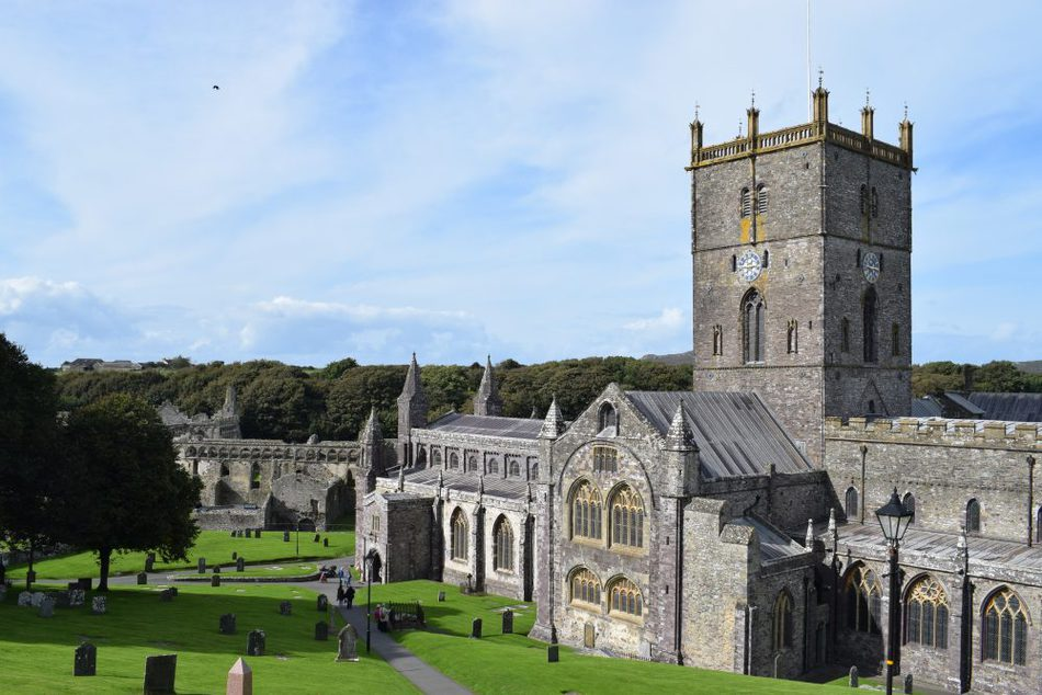 St David's cathedral Historical sites Things to do in the UK With Kids