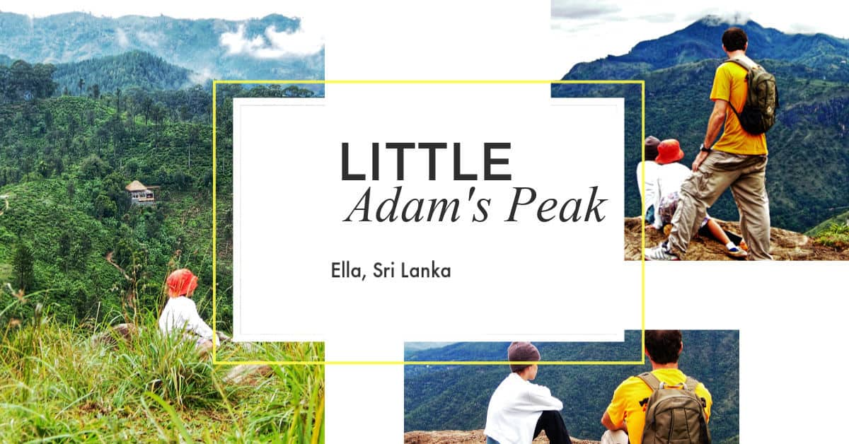 Little Adams Peak Ella Sri Lanka
