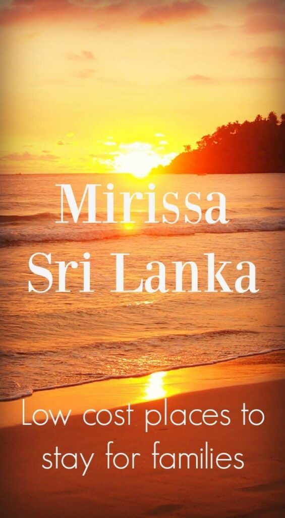 Places to stay Mirissa Sri Lanka families