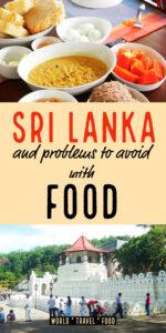 Sri Lanka problems sri lankan food