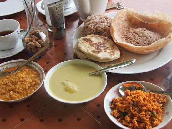What is a hopper? Hoppers Sri Lanka, part of a Sri Lankan breakfast