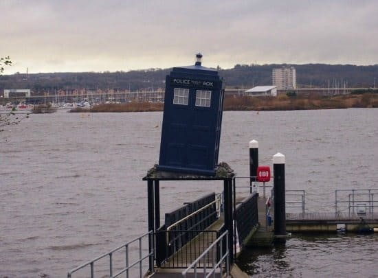Cardiff Doctor Who. Cardiff Bay Tardis and Doctor Who Experience