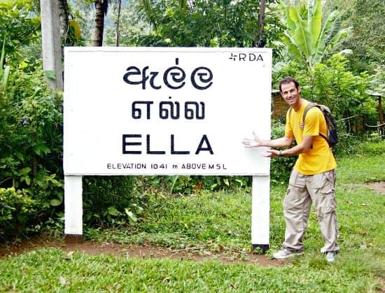 Ella Sri Lanka and Little Adam's Peak climb