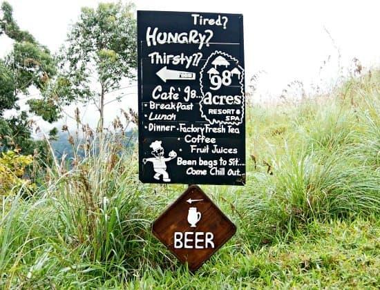 Ella Sri Lanka. Beer at Little Adam's Peak.
