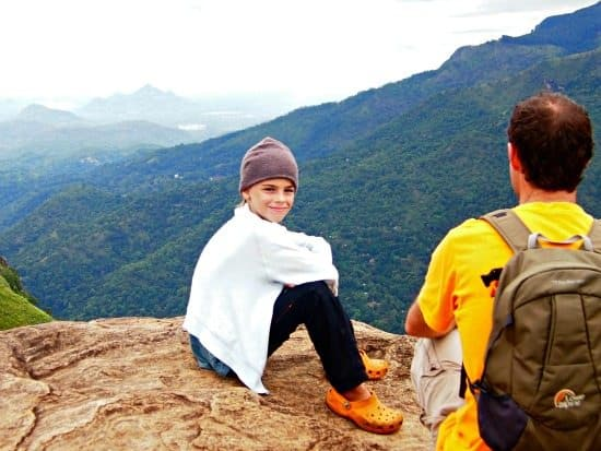 Little Adam's Peak climb. Ella trek SriLanka