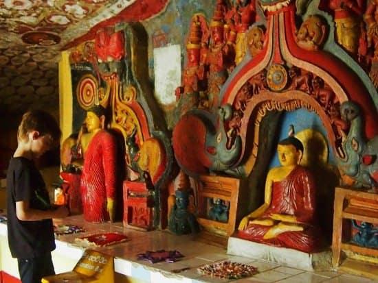 cave temple ella sri lanka