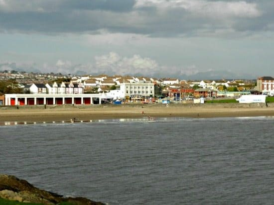Barry Island Beach Wales UK