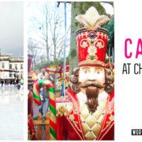 Cardiff, Wales at Christmas. Winter Wonderland!