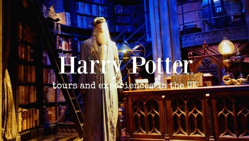 Harry Potter Tours and Experiences in the UK