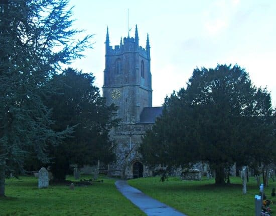 Avebury church England UK