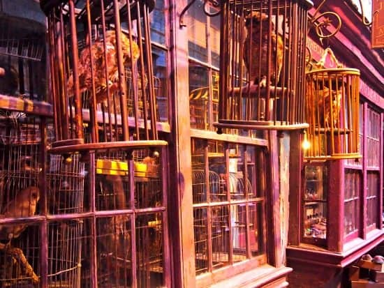 Diagon Alley from Warner Bros Studio Tours. Harry Potter Experiences Around the World. World Travel Family blog