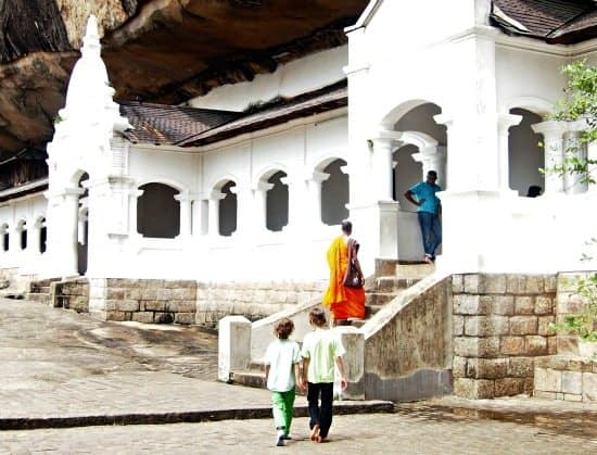 Dambulla Cave Temples Sri Lanka