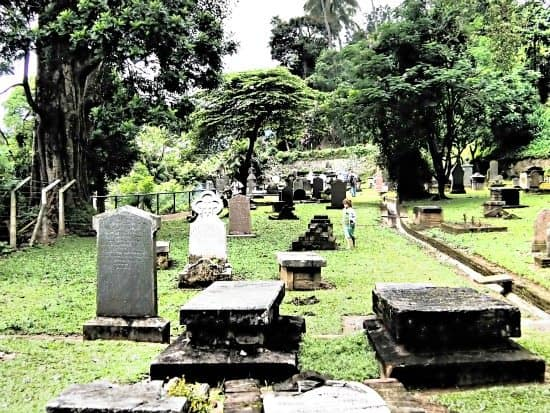 The British Garrison Cenmetery, Kandy