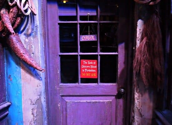UK Harry Potter tour , Diagon Alley