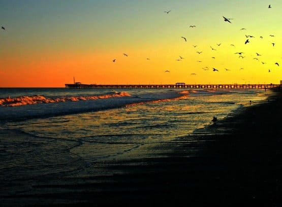 Myrtle beach sunset South Carolina