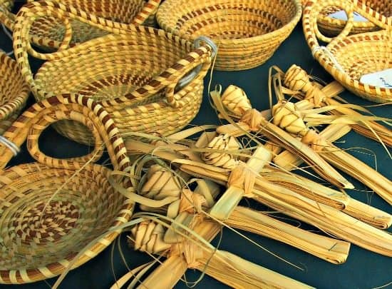 Put Charleston South Carolina on your USA road trip. Sweet Grass baskets