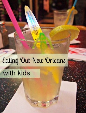 Eating in New Orleans With Kids
