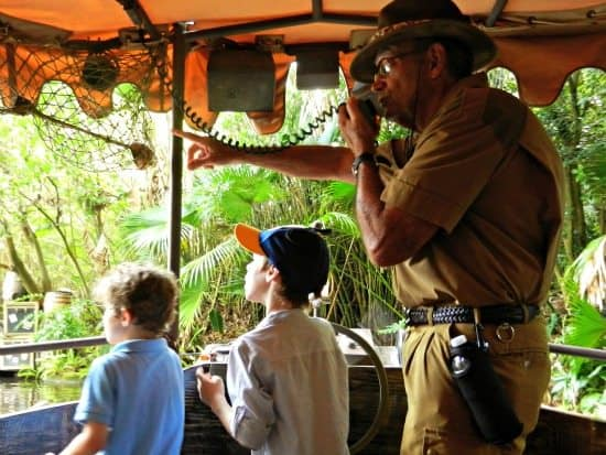 jungle cruise river