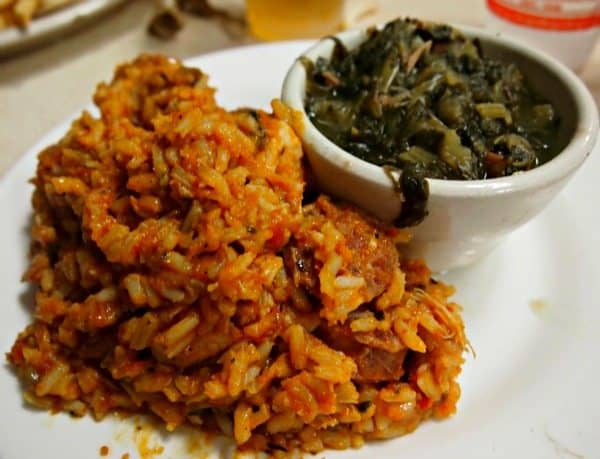 Where to eat out in New Orleans with kids Mothers greens