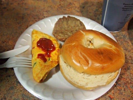 Hotel breakfast in USA