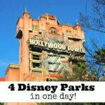 visit 4 disney parks in 1 day