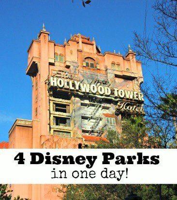 visit 4 disney parks in 1 day
