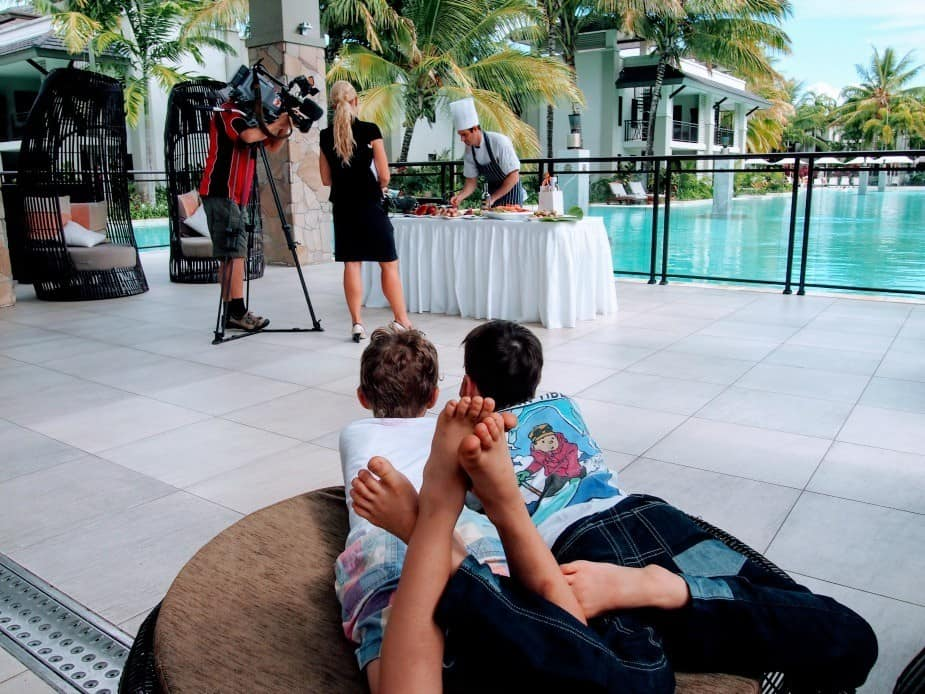 Stay at the best hotel in port douglas sea temple resort