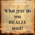 What gear do you need to travel the world