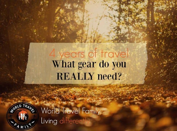 What gear do you really need to travel the world