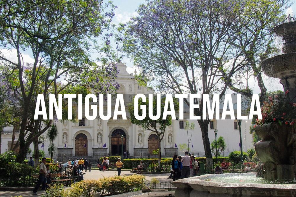 antigua guatemala beautiful architecture