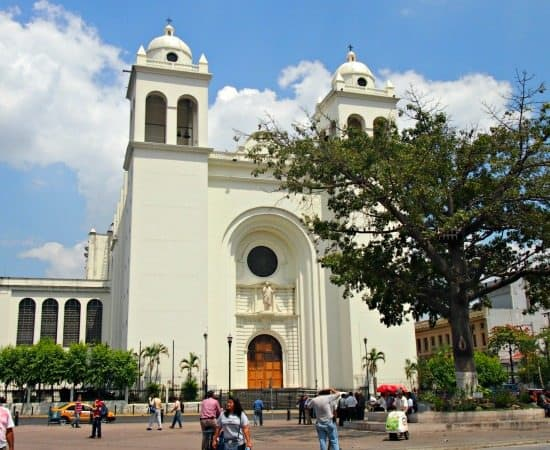 Is El Salvadore a god place to visit? Church in San Salvador