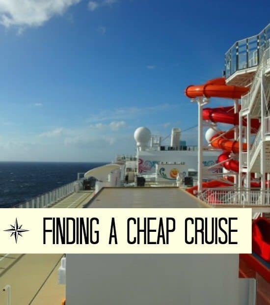 Finding Cheap Cruises