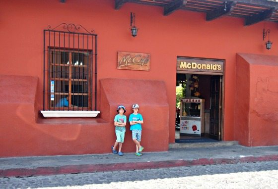 Junk food in Guatemala, Mc Donalds