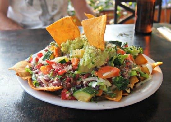 Giatemalan food nachos