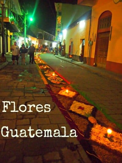 Good Friday Procession Flores Guatemala
