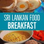 Sri Lankan Food Breakfast