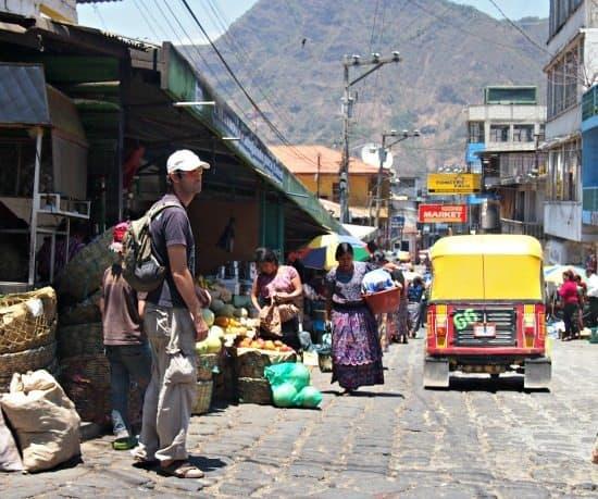 San Pedro La Leguna Mayan market