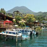San Pedro La Leguna on Lake Atitlan Guatemala