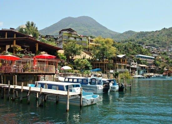 Antigua to San Pedro La Laguna Lake Atitlan Guatemala