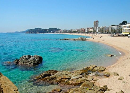 Lloret de Mar with children out of season