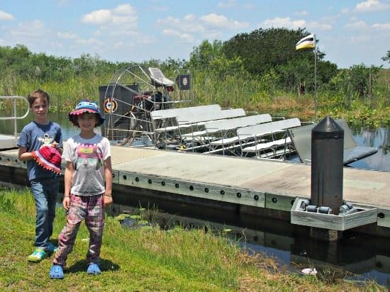 Airboat florida everglades