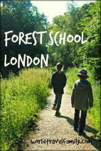 forest school worldschooling in London